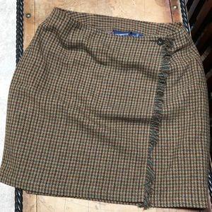 Liz Claiborne wool wrap skirt